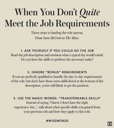 Good resume templates The post How to Land the Job When You're This-Close To Qualified appeared first on Ivanka Trump. Job Interview Preparation, Job Interview Questions, Job Interview Tips, Job Interviews, Interview Nerves, Interview Clothes, Interview Outfits, Job Resume, Resume Tips