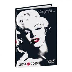TEXTAGENDA, 12x17cm, Marilyn star, Quo Vadis