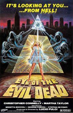Eye of the Evil Dead aka Manhattan Baby (1982) poster art