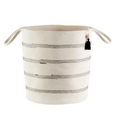 Think I could sew one of these together Laundry Bin, Laundry Basket, Basket Weaving, Hand Weaving, African Traditions, Toy Basket, Large Baskets, Scatter Cushions, Cotton Rope