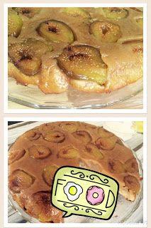 "bake! Ann: Fordított fügetorta és füge ""tudtadte?!"" Apple Pie, Desserts, Deserts, Apple Pies, Dessert, Postres, Apple Cakes, Food Deserts"
