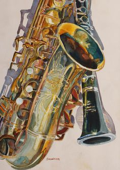Choose your favorite jazz band paintings from millions of available designs. All jazz band paintings ship within 48 hours and include a money-back guarantee. Jazz Art, Art Music, Music Logo, Music Artwork, Watercolor Paintings, Watercolours, Fine Art America, Musicals, Blues
