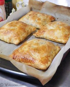 Beef Burgundy in Puff Pastry by Anne Papina on Epicurious Community Table Beef Pot Pies, Meat Pies, Fall Recipes, Beef Recipes, Recipies, Puff Pastry Recipes, Puff Pastries, Appetizer Recipes, Dinner Recipes