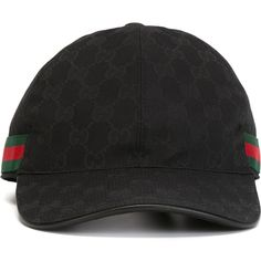 32c4bd6af42a5 Gucci Original Gg Canvas Baseball Hat ( 235) ❤ liked on Polyvore featuring  men s fashion