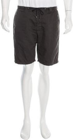 Maison Martin Margiela Flat Front Shorts Charcoal, Flats, Shorts, Stylish, Men, Tops, Fashion, Loafers & Slip Ons, Moda