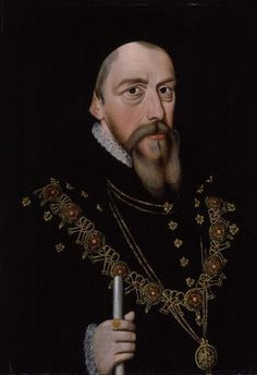 William Cecil, Lord Burghley, Elizabeth I's chief councillor and friend by lisby1, via Flickr