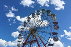 Summer fun Summer Must Haves, Summer Fun, Summer Photos, Ferris Wheel, Fair Grounds, Travel, Summer Pictures, Viajes, Destinations