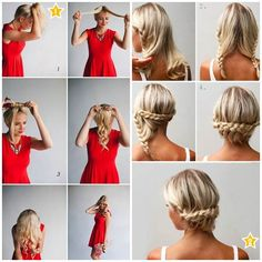 Hairstyles that can be created in three minutes http://veu.sk/index.php/aktuality/526-ucesy-ktore-sa-daju-vytvorit-do-3-minut.html #hairstyles #can #created #three #minutes #diy