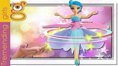 Muñeca Hada Voladora con música y luces - Flying Fairy doll toy - juguet...
