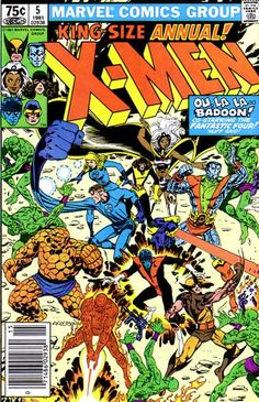 My very first X-Men: Uncanny X-Men Giant Size Annual #5