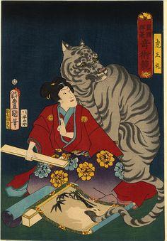 The Tiger by Utagawa Kunisada