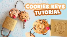 Cookies Keys Tutorial: Polymer Clay How-to