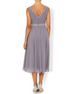 Monsoon | Ava Dress | Grey