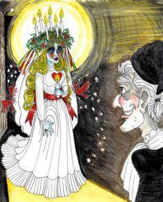 A Christmas Carol- Scrooge meets Ghost of Christmas Past