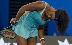 La estadounidense Serena Williams, número uno del mundo, protagonizó la anécdota de la jornada en la Copa Hopman,
