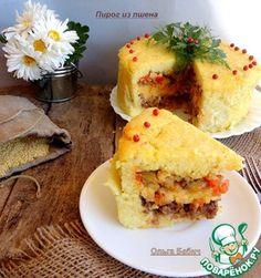 Рецепт: Пирог из пшена