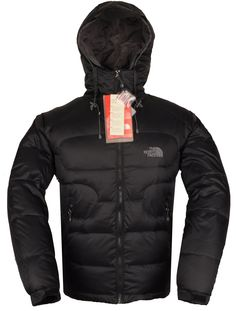 The North Face Men Down Jackets blck  125 free shipping Face Down, North  Face Hoodie a649e9412db0