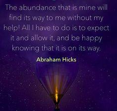 Abraham Hicks More