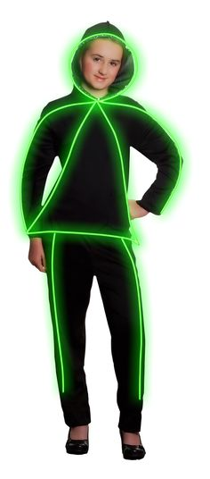 Glowing costume - will need this when the Glow Run comes to town. :)
