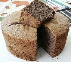 Little Corner of Mine: Coffee Chiffon Cake Ore Monogatari Baking Recipes, Cake Recipes, Dessert Recipes, Sweets Cake, Cupcake Cakes, Cupcakes, Cake Mix Coffee Cake, Chocolate Chiffon Cake, Cotton Cake