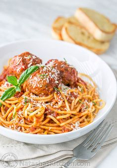 Spaghetti and Meatballs  Why should you make it – Spaghetti is a delicious and healthy choice for your kids. It works as a filling and hearty dinner for the kids as well as adults.