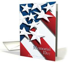 Stars & Stripes - Memorial Day card (429156)