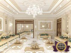 Arabic Majlis Interior Design from Luxury Antonovich Design, Katrina Antonovich