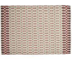 Ein Mix aus Schurwolle und Baumwolle machen dieses Modell zu Ihrem neuen Lieblingsbegleiter: Teppich SMOOTH COMFORT von Tom Tailor ist genau das! Ein sanfter, komfortabler Teppich, der mit seinem beige-roten Design auch optisch eine gute Figur macht. Was können Sie sich mehr wünschen?