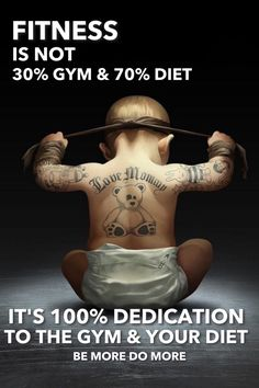 #BeMoreDoMore #Baby #tattoos #fitness