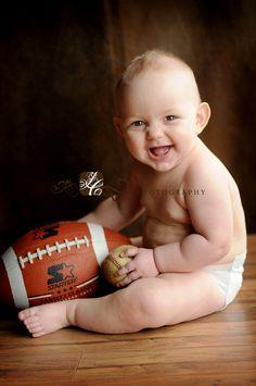 Baseball & football fan already :)