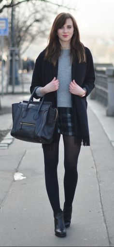 Oversize blazer coat in black  Love, love. love, this look from head to toe.
