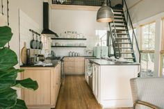 Fixer Upper season 3 The Shotgun House. How to maximize space in small houses. Joanna Gaines, Shotgun House Interior, Modern Farmhouse Interiors, Magnolia Homes, Magnolia Farms, Magnolia Market, Tiny Living, Living Area, Living Spaces