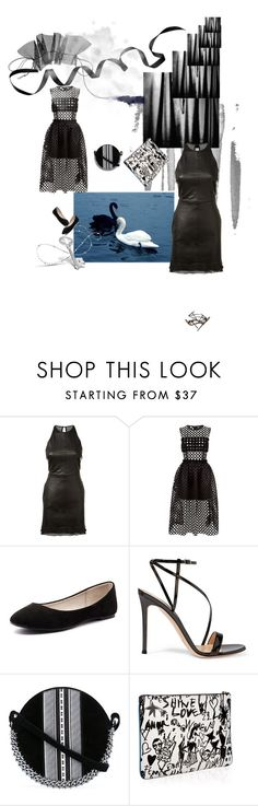 """LakeLane"" by alla-chernets ❤ liked on Polyvore featuring RtA, Paskal, Verali, Gianvito Rossi, Paco Rabanne and Lanvin"