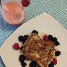 light and healthy french toast @healthpanda #breakfast