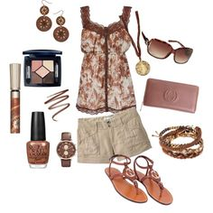 browns :), created by melesha-hatton-baker.polyvore.com