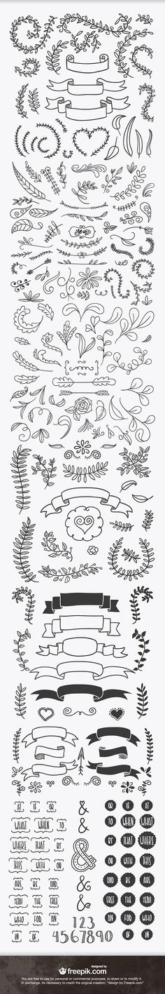 ever handsketched free vector elements Doodles for bullet journal.Doodles for bullet journal. Banners, How To Draw Ribbon, Chalkboard Art, Bullet Journal Inspiration, Doodle Inspiration, Doodle Ideas, Journal Ideas, Creative Inspiration, Bible Art