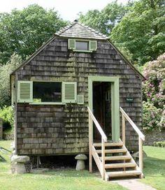 Shedworking: The Shack - Mottistone Manor