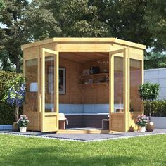 Buy a BillyOh Picton Corner Summerhouse from Garden Buildings Direct