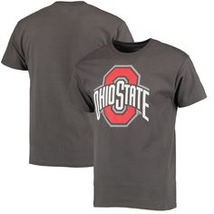 Ohio State Buckeyes Athletic O T-Shirt - Charcoal