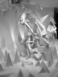 Joseph, London // Winter Wonderland in collaboration with Harlequin Design