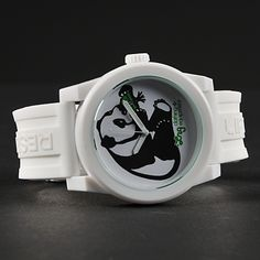 LRG Icon Series Panda White rannekello