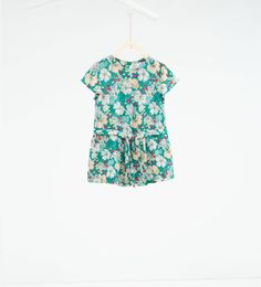 Jumpsuit with bow-DRESSES-BABY GIRL | 3 months-3 years-KIDS | ZARA United States