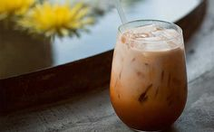 Thai Coconut Iced Tea!