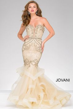 ced98a1e6566b Mermaid prom and evening dresses. Tulle Prom DressMermaid Style Prom DressesJovani  DressesProm Dresses 2018Princess DressesProm GownsBridal ...