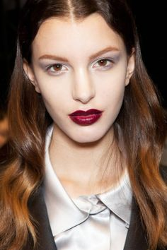 Fall 2012 Beauty Preview- I can do this, just bought Urban Decay lipstick in Gash that'll work nicely. :D