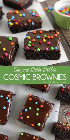 Brownie Desserts, Brownie Cake, Brownie Recipes, Chocolate Desserts, Fun Desserts, No Bake Treats, Yummy Treats, Sweet Treats, Yummy Food