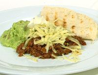 Spicy Mexican mince and guacamole recipe - 9Kitchen