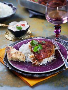 Tandooribroileri ja tomaattiraita | Intia | Pirkka #food #India