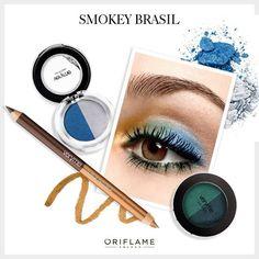 ¡Un smokey eye digno de una triunfadora! Aplica este maquillaje inspirado en Brasil 2014. #SmokeyEye #Brazil2014 #makeup #OriflameMX