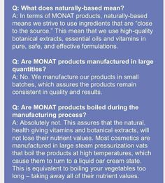 Monat facts www.autumn.mymonat.com